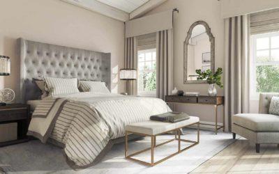 Bedroom Interior CG Image Posh Design