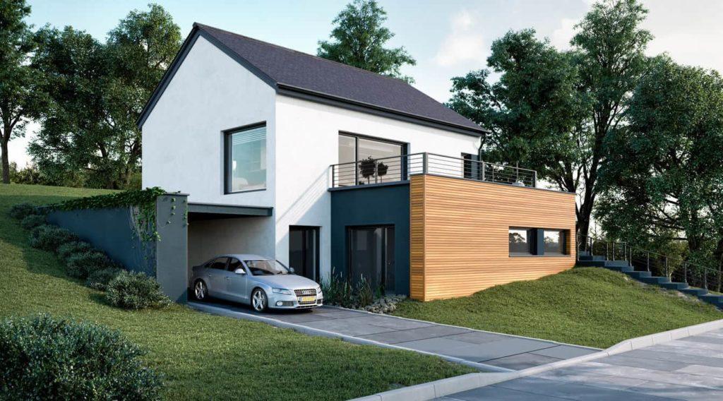 Modern Exterior Visual