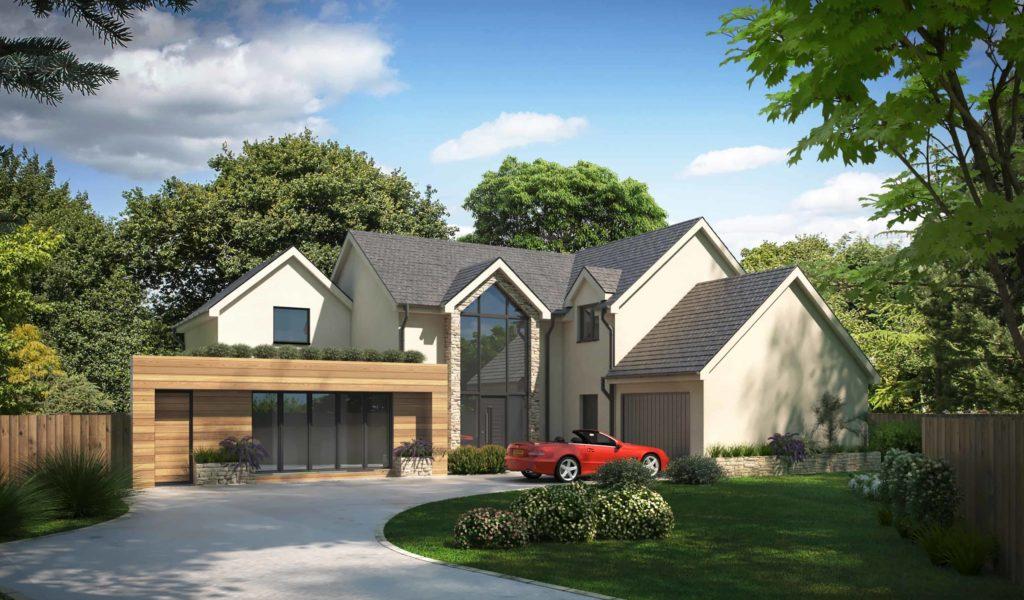 Property Rendering CGI Images For Property Developer in Surrey, Greater London, United Kingdom