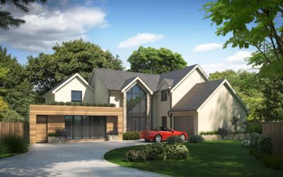 Property Rendering CGI Images For Property Developer in Surrey, Greater London, United Kingdom
