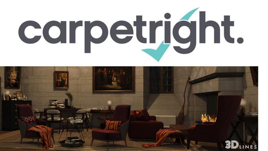10 Of The Most Iconic Rooms From British Films And Tv Shows Re Designed For Carpetright 3d Architectural Visualisation Rendering Services In Uk